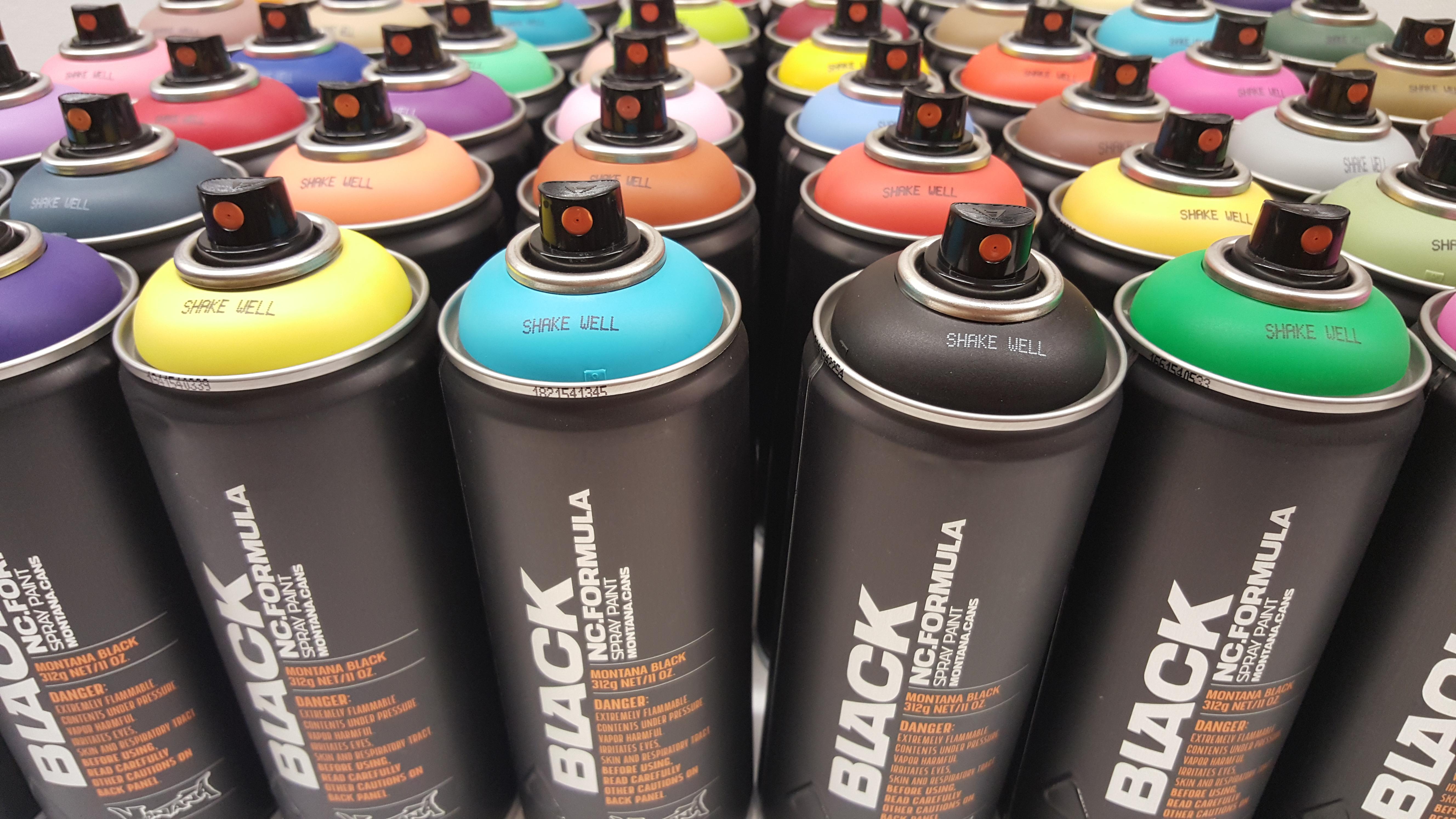 Montana-Cans Black Line Color Series Packs - Montana Black Line